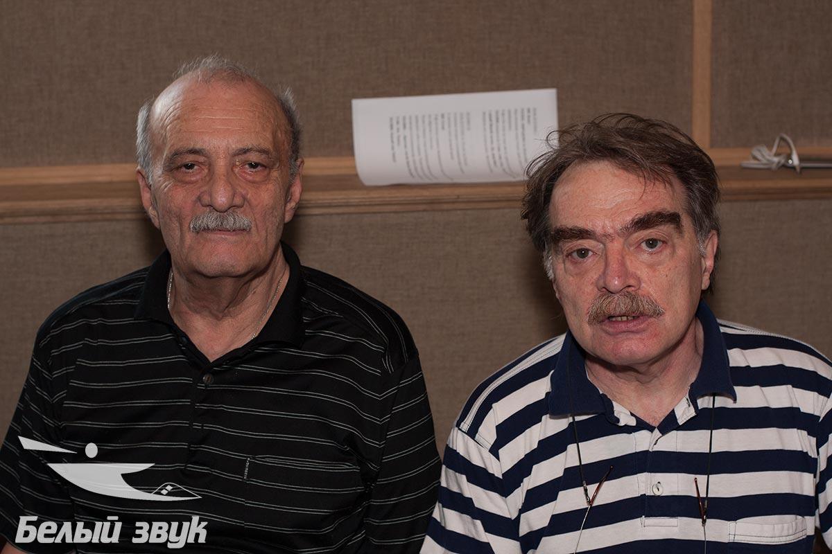 Георгий Данелия и Александр Адабашьян